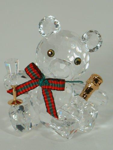 Swarovski orsetto orso in festa Kris 238168 AP 2004 [Gioielleria]