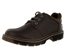 Dr. Martens Lucas Plain Boys Dress Size US 4, Regular Width, Color Brown