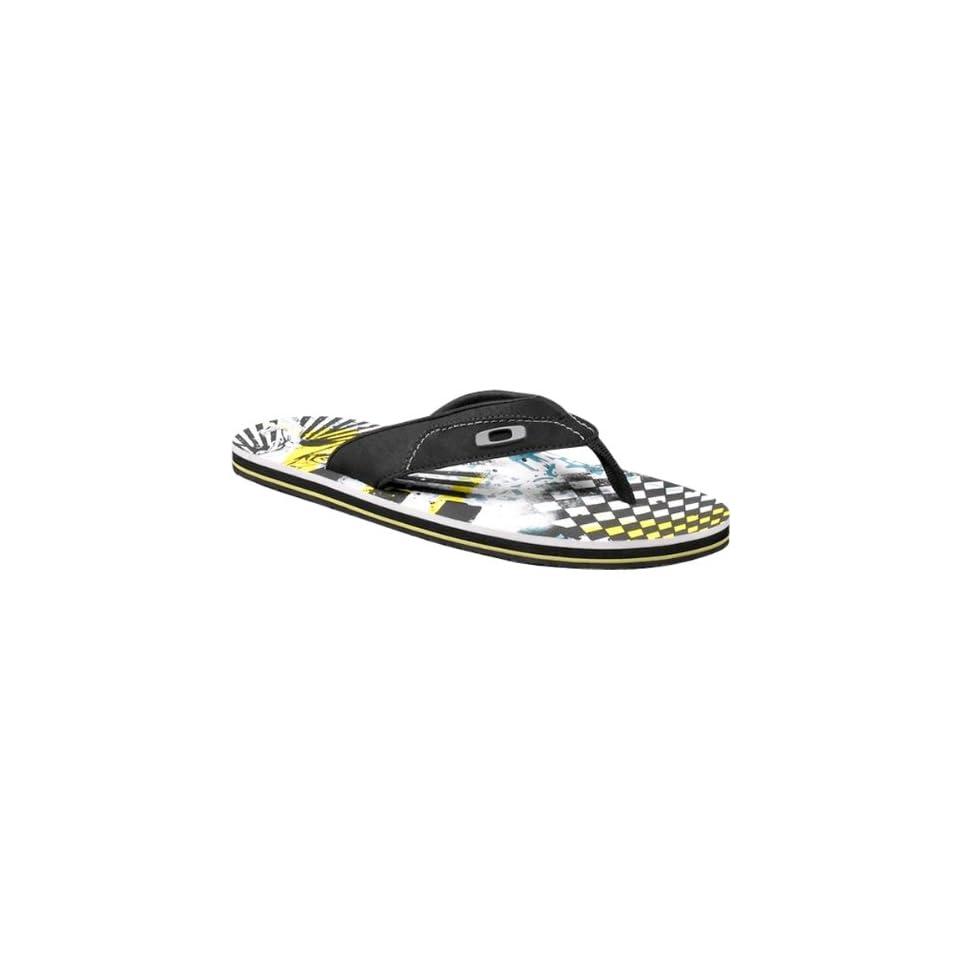 62fbecc012a9 Oakley O Strap Mens Sandal Flip Flop Sulfur   Size 8.0 on PopScreen