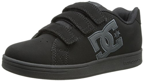 Dc Character V Skate Shoe (Toddler/Little Kid/Big Kid),Black/Blackish,3 M Us Little Kid front-1036613