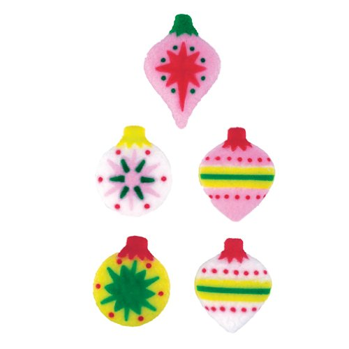 Classic Ornaments Sugar Decorations Christmas Cookies Cupcake Cake 12 Count