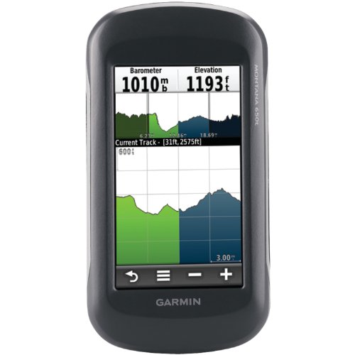 Garmin Montana 650t Waterproof Hiking GPS  TOPO