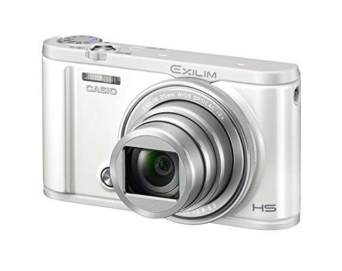 CASIO デジタルカメラ EXILIM EX-ZR3100WE 自分撮りチルト液晶 スマホへ自動送