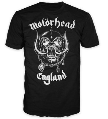 Motorhead England T-Shirt (Large) (Motorhead T Shirt compare prices)