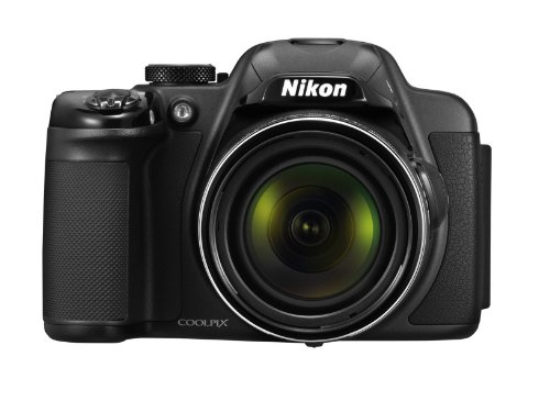 Nikon Coolpix P520 3D Camera - Black (18.1MP, 42xZoom, 24mm Wide Lens) 3.2 inch LCD