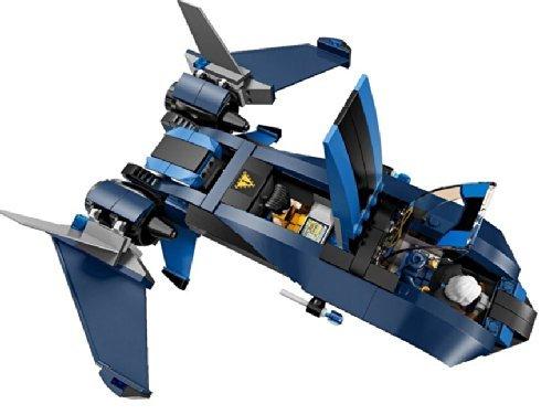 Lego Marvel Super Heroes X-men Blackbird Jet X-jet NO Minifigures