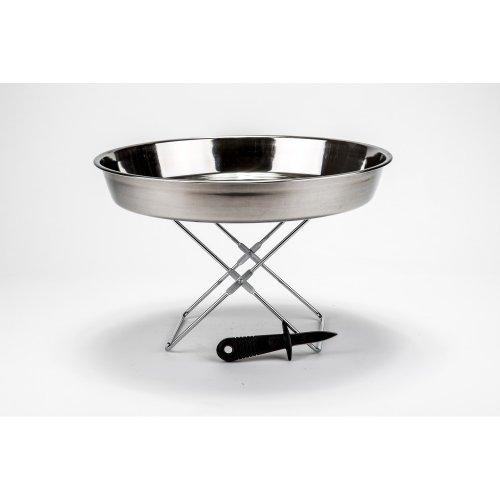 vaisselle support plateau fruits de mer et couteau hu tres. Black Bedroom Furniture Sets. Home Design Ideas