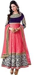 KD Enterprise Women's Georgette Anarkali Salwar Suit
