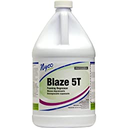 Nyco Products NL233-G4 Blaze 5T Foaming Degreaser Concentrate, 1-Gallon Bottle (Case of 4)