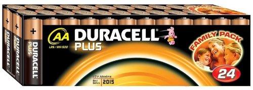 Lot de piles alcalines LR6 (AA) 24 pc(s) Duracell