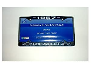1967 Chevrolet License Plate Frame