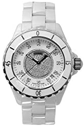Chanel Men's H1759 J12 Diamond Dial Watch from Chanel