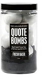 da Bomb Bath Fizzers (Jars, Quote Bombs)