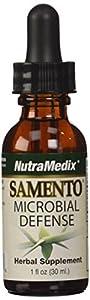 Samento Microbial Defense - NutraMedix - Liquid 1 Ounce (Pack of 2 Bottles)