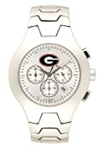 Georgia Bulldogs Hall Of Fame Sterling Silver Watch