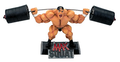 New-MAX-Squat-Xtreme-Figurine-Bodybuilding-Weightlifting-Collectible-Statue