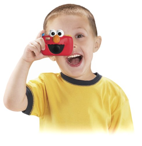 Fisher-Price Sesame Street Elmo Sing and Giggle Camera - 1