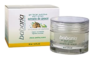 Babaria Anti-Ageing Nourishing Gel with Snail Extract 50ml
