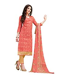 Ms trendz dress material chanderi suit