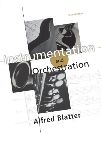 instrumentation and orchestration by alfred blatter pdf