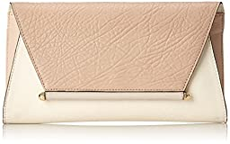 Vince Camuto Addy Clutch, Ivory/Roebuck, One Size