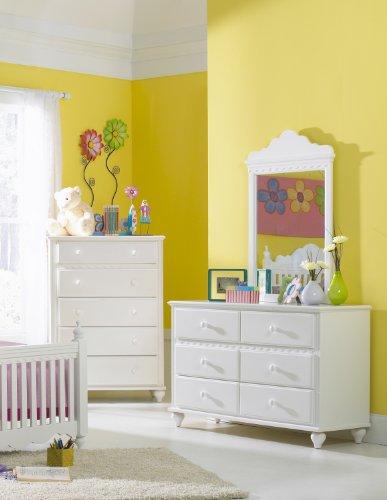 Cheap Hillsdale Furniture 1528-717W Lauren Kids Dresser, White (1528-717W)
