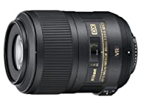 Nikon 85mm f/3.5G AF-S DX ED VR Micro Nikkor Lens for Nikon Digital SLR Cameras from Nikon