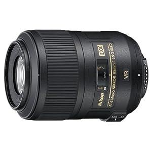 Nikon 85mm f/3.5G AF-S DX ED VR Micro Nikkor Lens for Nikon Digital SLR Cameras