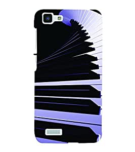 PrintVisa Music Piano Modern Art 3D Hard Polycarbonate Designer Back Case Cover for Vivo Y27L