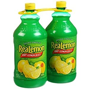 ReaLemon 100% Lemon Juice - 2/48 oz. btls.