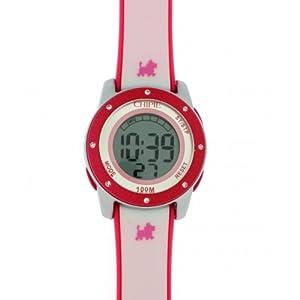 Chipie 5208501 - Reloj digital de cuarzo para niña con correa de plástico