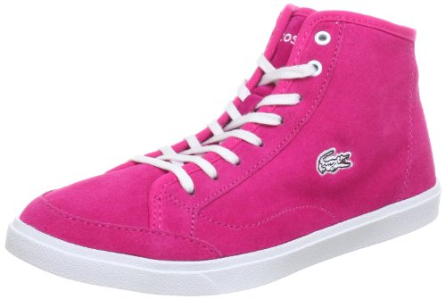 Lacoste Womens Polidor MID JAW SPW Trainers Pink Pink (Dunkelpink) Size: 6 (39.5 EU)
