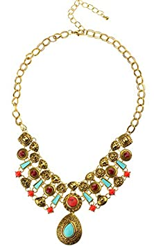 buy Btime Women Retro Special Occasion Necklace(Gold)