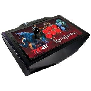 キラーインスティンクト アーケードファイトスティック トーナメントエディション2 クリアーボタン採用&LEDバックライト機能搭載 (Xbox One)