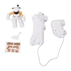 2.4 GHz Remote Control Fighting Robot RC Battle Robot - White