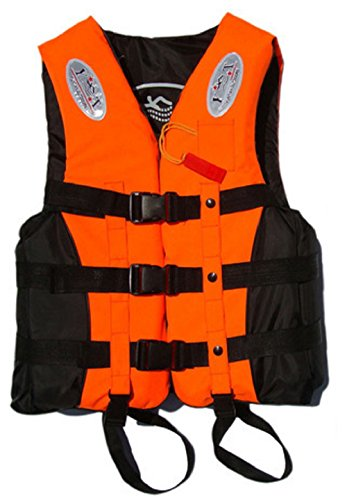 Life jacket ORM floating best child adult S M L XL XXL (Orange M (weight 45 kg))