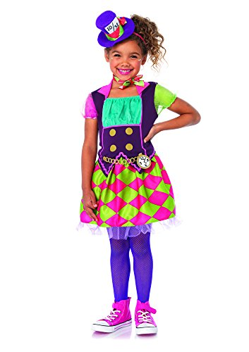 3 PC. Girls' Mad Hatter Dress