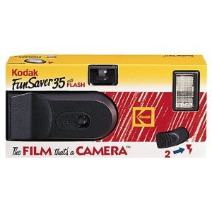 Kodak Funsaver 35mm Single Use Camera w/ Flash