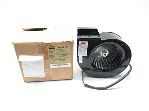 NEW DAYTON 2C647A 115V-AC 1/70HP 1500RPM 134CFM SHADED POLE BLOWER D502104 (Dayton Pole Blower compare prices)