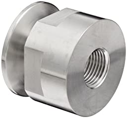Dixon 22MP-R10050 Stainless Steel 316L Sanitary Fitting, Clamp Adapter, 1\