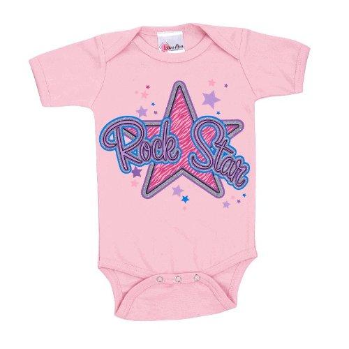 Lollipop Moon Glitter Rock Star Baby Creeper front-915107