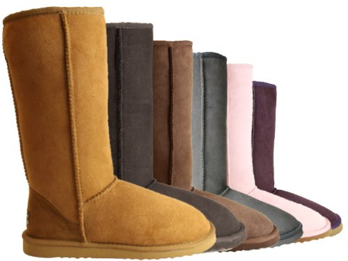 Ugg Boots by Whooga - Classic Tall (Chocolate,