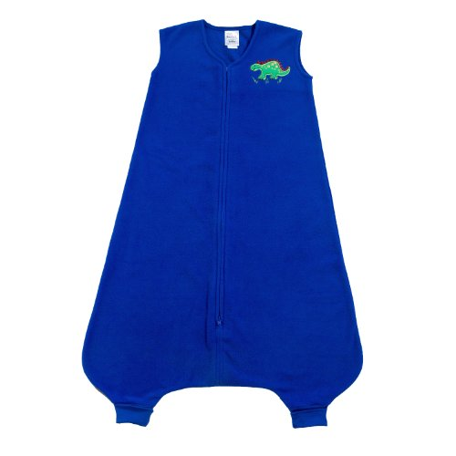 HALO 2172 Big Kids SleepSack Micro-Fleece Wearable Blanket Size 2/3T Blue Dinosaur