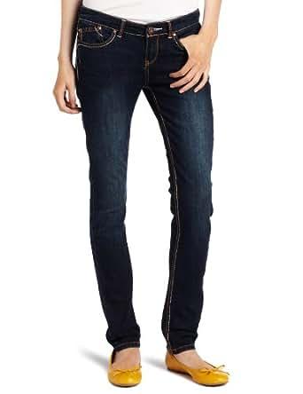 Unionbay Juniors Lucille 5 Pocket Legging, Moonbeam, 0