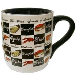 Four Seasons Of Louisiana Mug