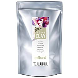 MILLIARD 100% Pure and Natural French Green Clay 1 lb.