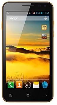 TenGO Motive 500 Smartphone débloqué (5 pouces) Noir/Orange (import Espagne)