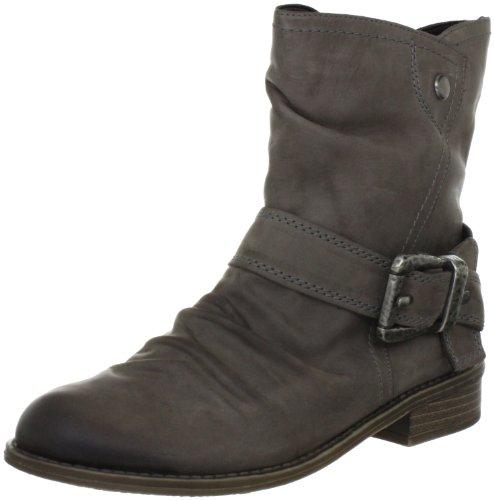 Rieker Kinder Peggy Boots Girls Gray Grau (basalt 40) Size: 12.5 (31 EU)