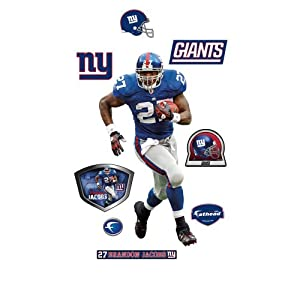 Brandon Jacobs New York Giants Wall Decal by Fathead