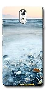 DigiPrints Designer Back Cover for Lenovo Vibe P1M-Multicolor